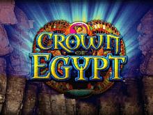 Выиграть фишки в азартной игре Корона Египта на депозит